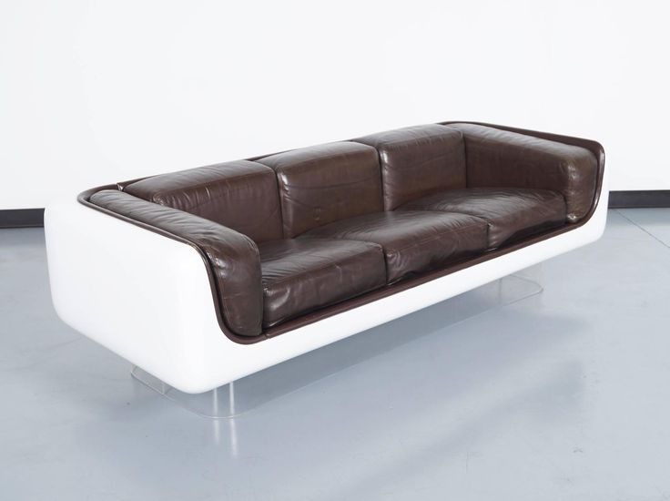 Vintage Floating Sofa By Steelcase