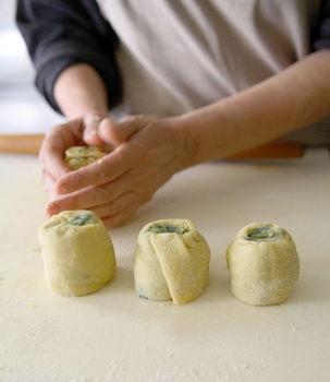 Bocconi farciti con verdure -