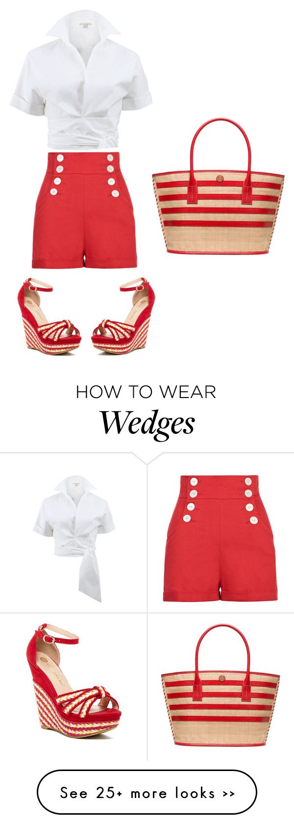 """""""Untitled #140"""" by citygirlmanhattan on Polyvore featuring Michael Kors, Tory Burch and Chase & Chloe"""