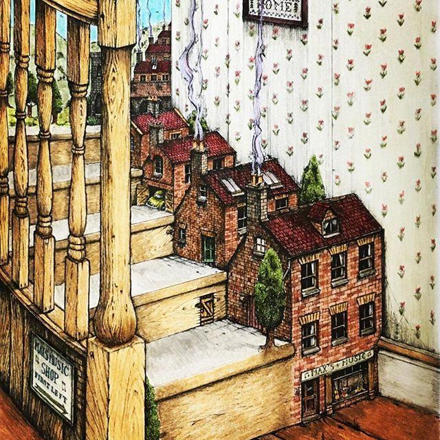 #colinthompsonsfantastischesmalbuch #colinthompson #adultcoloring #fantastischesmalbuch #beautifulcoloring #coloriage #coloring #coloringmasterpiece #coloringbook #coloringforadults #instacoloring #holbein #大人の塗り絵 #塗り絵 #ぬり絵  #コロリアージュ #ホルベイン色鉛筆 #ホルベイン #カラーリングブック