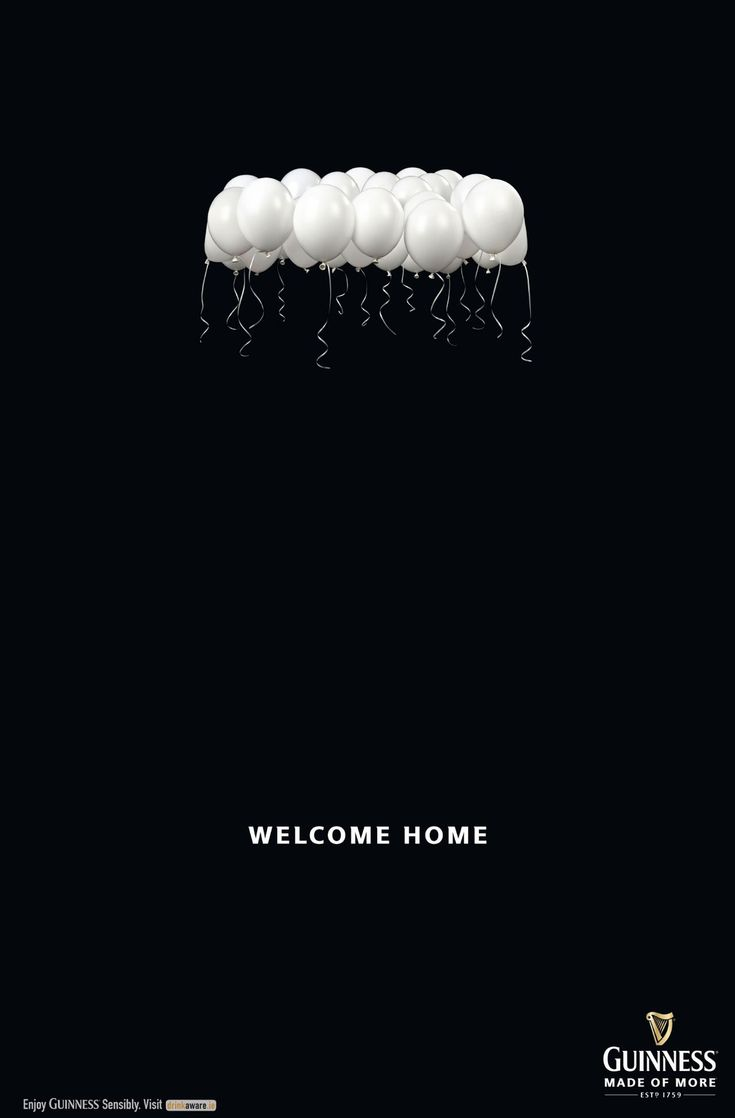 "Adeevee - Guinness: Welcome Home Poster ad that ran at Dublin Airport, welcoming those returning to Ireland for ""The Gathering"" – an Irish government-sponsored initiative which encourages the Irish diaspora to visit home. Advertising Agency:Irish International BBDO, Dublin, Ireland Creative Director:Dave Buchanan Art Director:Paddy Geraghty Copywriter:Laurence Keogh Photographer:Dave Campbell Post Producer:Lee Hickman"