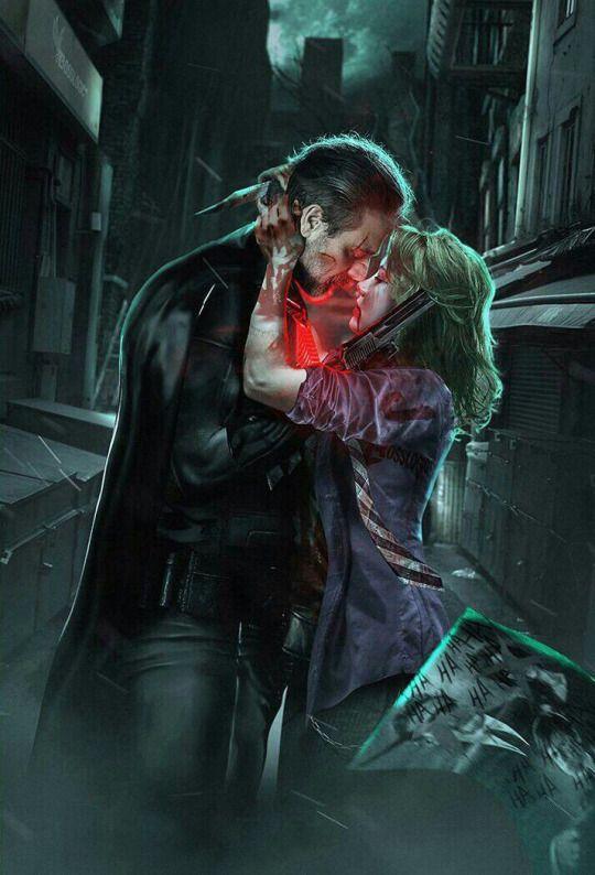 Batman & Joker Flashpoint&BvS version by Bosslogic