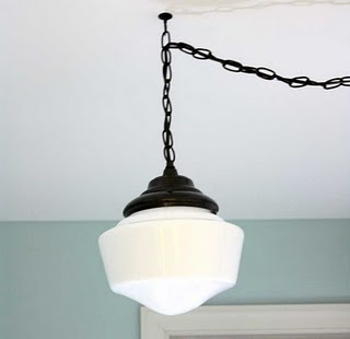 DIY Schoolhouse Light Fixture