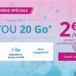 #Promo : Bouygues répond à Free Mobile avec un forfait 20 Go à 299/mois pendant un an