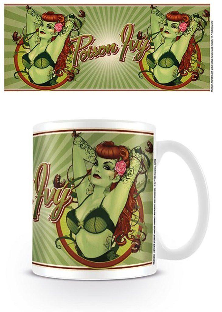 Poison Ivy - Batman - DC Comics Bombshells - Ceramic Coffee Mug