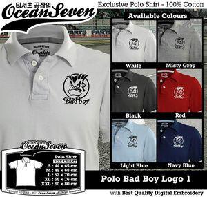 Baju Kaos Polo Bad Boy Logo 1
