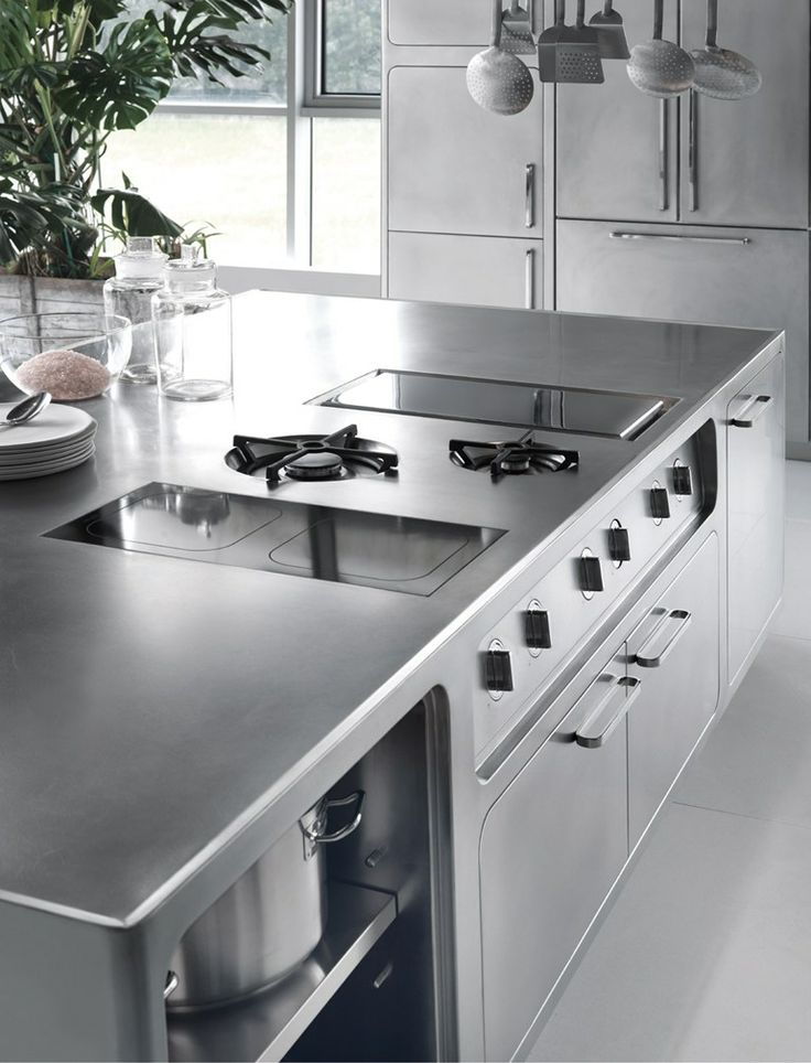 Professional stainless steel kitchen ABIMIS - ABIMIS by ...