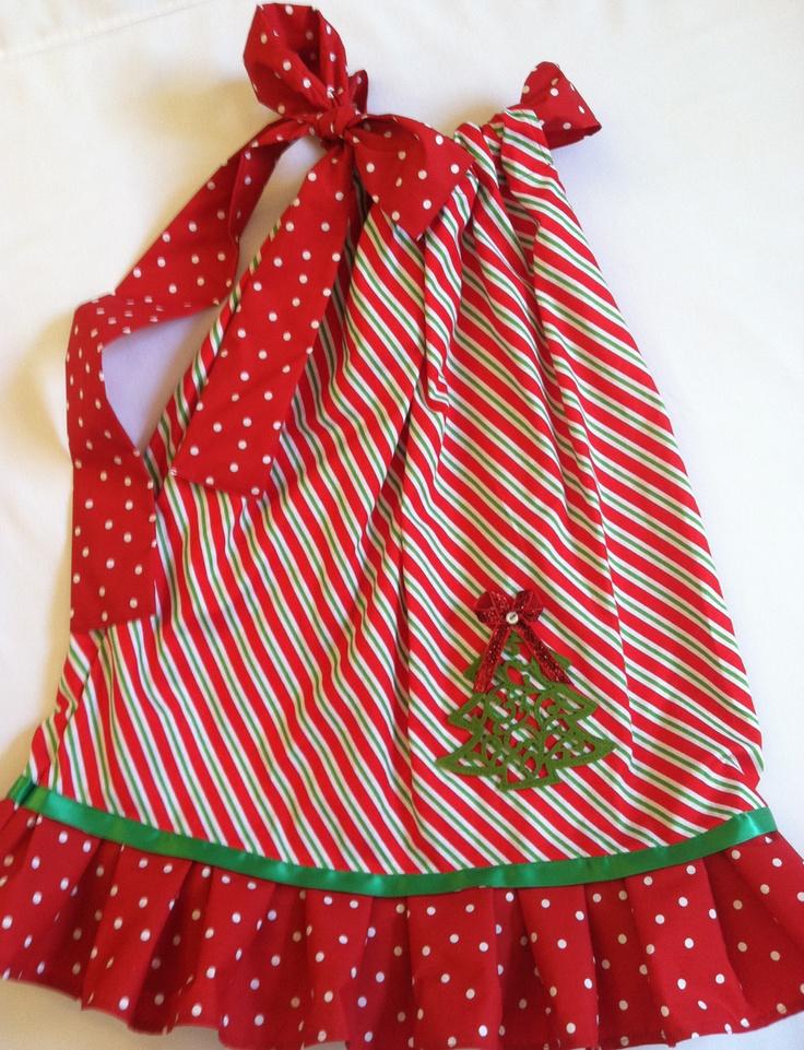 Christmas Dress  Christmas Fashion For Little Girls, Fun for the seasons!  http://www.etsy.com/shop/LolasMusicBox