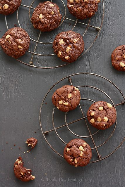 Outrageous Chocolate Butterscotch Chip Cookies   Flickr - Photo Sharing!