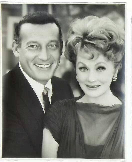 Lucy and Gary Morton