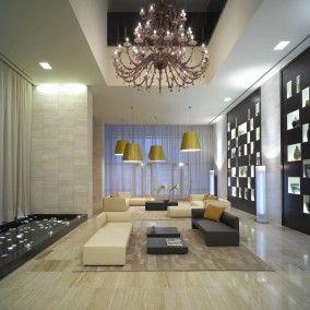 top Italian design for a 5 star hotel lobby lounge in Dubai UAE
