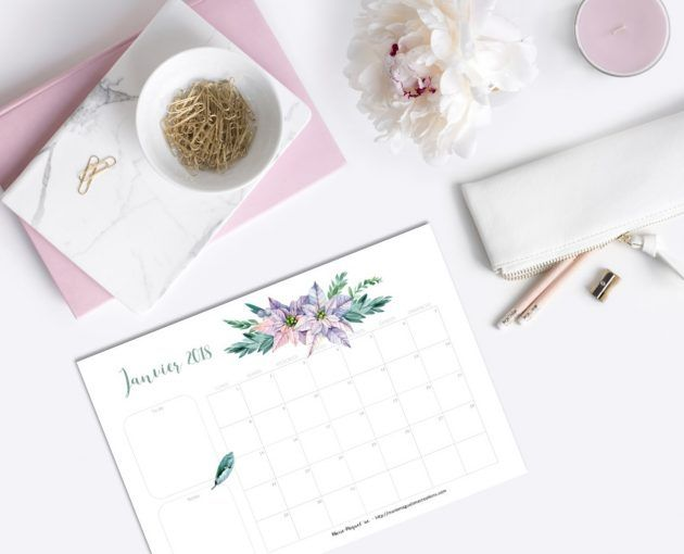 Printable offert par Marie-Maguelone, janvier 2018