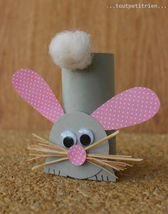 22 idées écolos de loisirs créatifs à réaliser avec des rouleaux de papier toilette / 22 ideas of artcraft to make with roll paper rolls