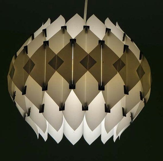 Mid Century Lars Schioler Butterfly lamp by SoloVintages