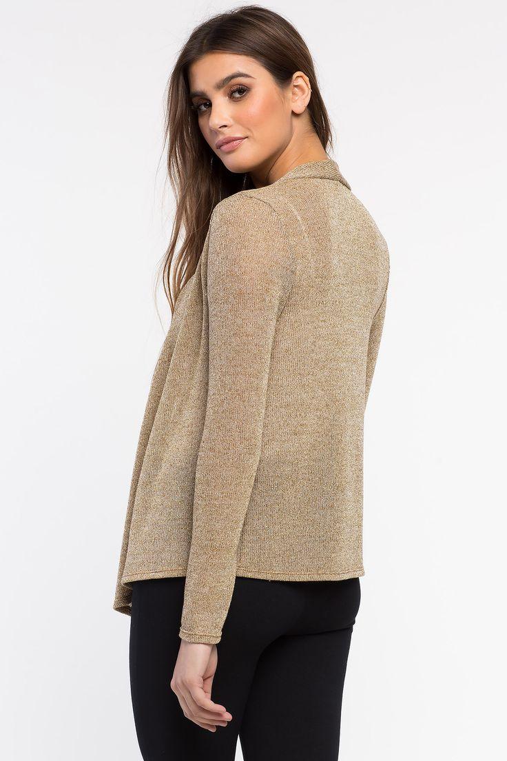 Кардиган Размеры: S, M, L Цвет: бежевый, кремовый Цена: 1285 руб.     #одежда #женщинам #кардиганы #коопт