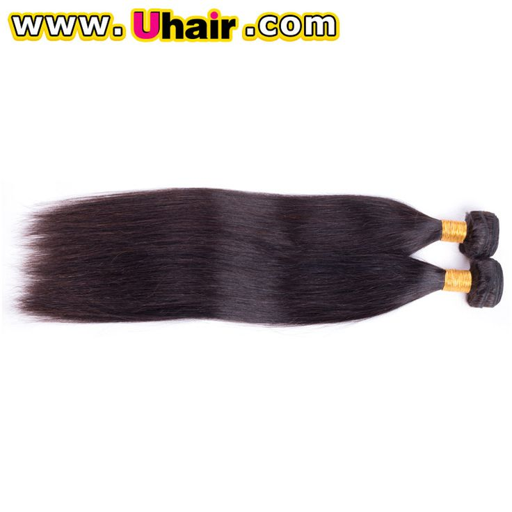 Like what you see? Follow me for more: @uhairofficial brazilian straight hair weave bundles 100% human hair extensions