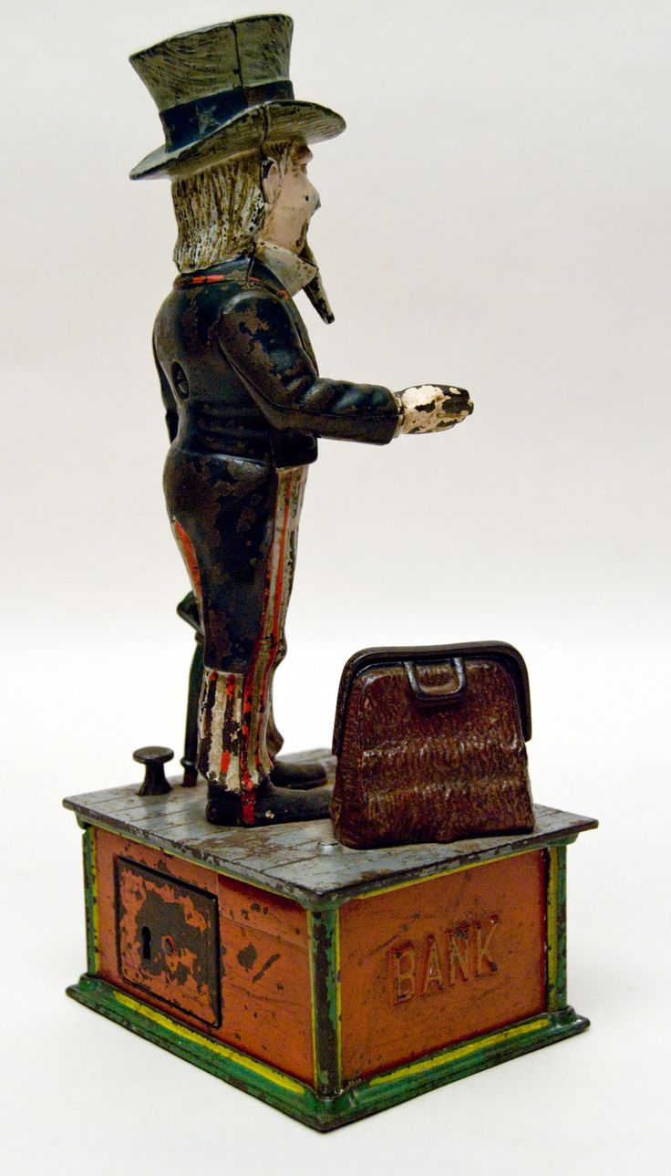 Best Antique Toys : Best images about antique toy banks on pinterest