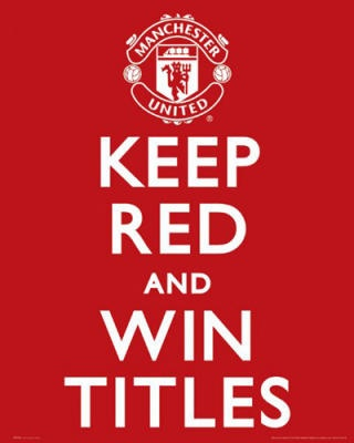 Manchester United, winning. Glory Glory.