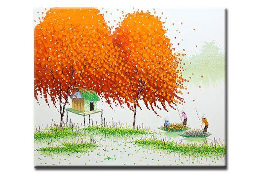 Декоративная картина «Безмятежное утро» купить в интернет магазине Принт-Постер, цена производителя!