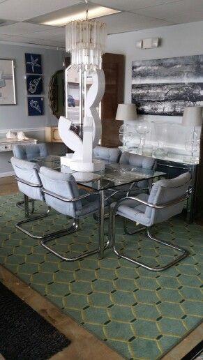 Mid century modern dining set for 349.00 at Jasper Kane