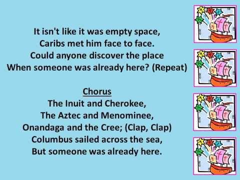 Columbus Song - 1492 - YouTube