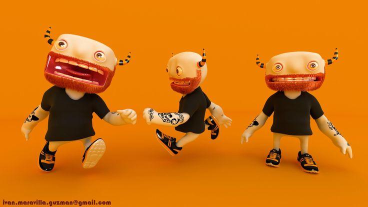 diseño de personaje animado para tienda en linea: venenotoyshop.com