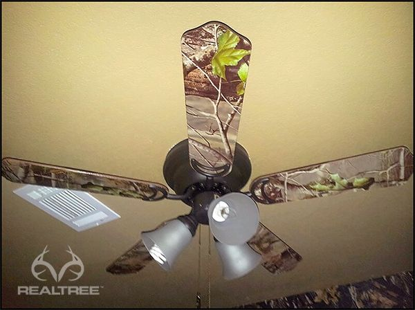 Realtree Camo Ceiling Fan #Realtreecamo #camodecor · Boys Hunting BedroomRedneck  ...