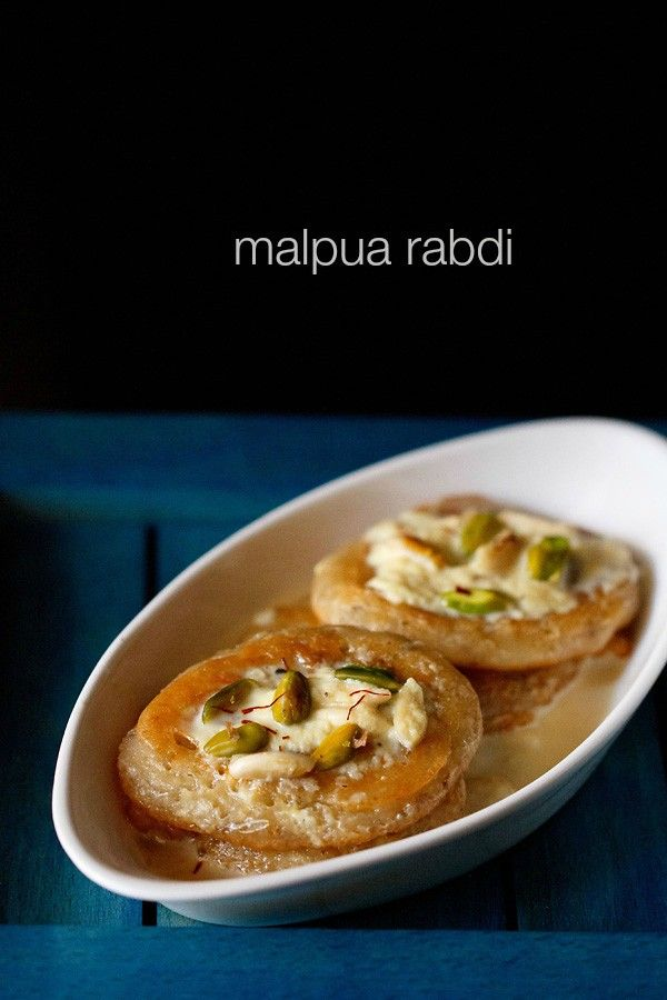 malpua recipe with step by step photos - a traditional north indian sweet of soft, fluffy and yet crisp pancakes coatedwith sugar syrup and served with rabri or thickened sweetened milk. holi festival is around the