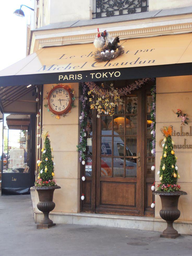 Le chocolatier Michel Chaudun, Paris 7ème arrondissement. Pâques