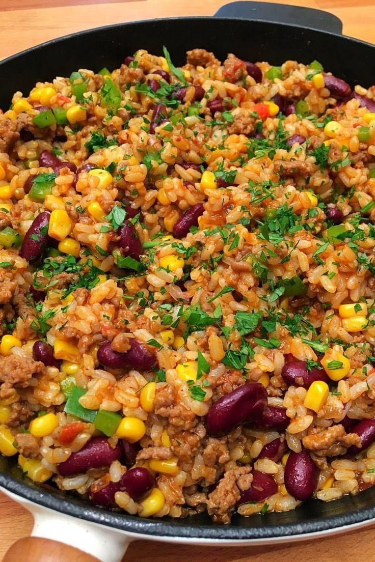 Mexikói rizses hús – GastroHobbi