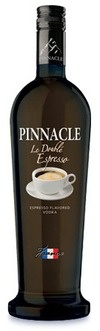 Pinnacle Le Double Espresso Vodka....mmmmmm, spiked coffee:D gotta tell Jarrod about this one!