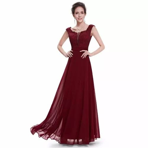 Vestido Importado  Ever Pretty Pronta Entrega Belíssimo - R$ 290,00