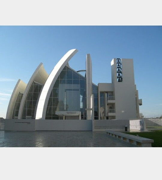 Iglesia de Jubileo, Roma Arq: Richard Meier