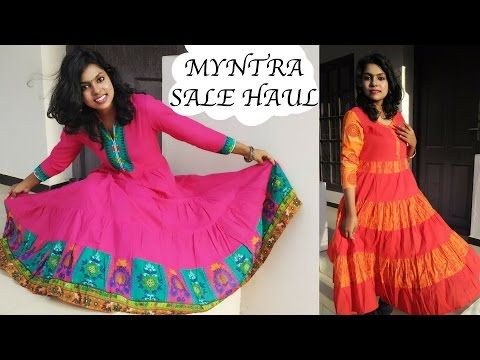 Try On Clothing Haul | Myntra.com Shopping - Big Sale Haul Hey..Myntra Big Billion Sale Haul is here & how can I miss the amazing shopping deals during festive season? This is a special haul as I picked up most of the ethnic pieces which are perfect for festival time, Diwali. All are the Kurta are from the Flipkart/ Myntra big billion day sale haul & I managed to get in massive discounts,
