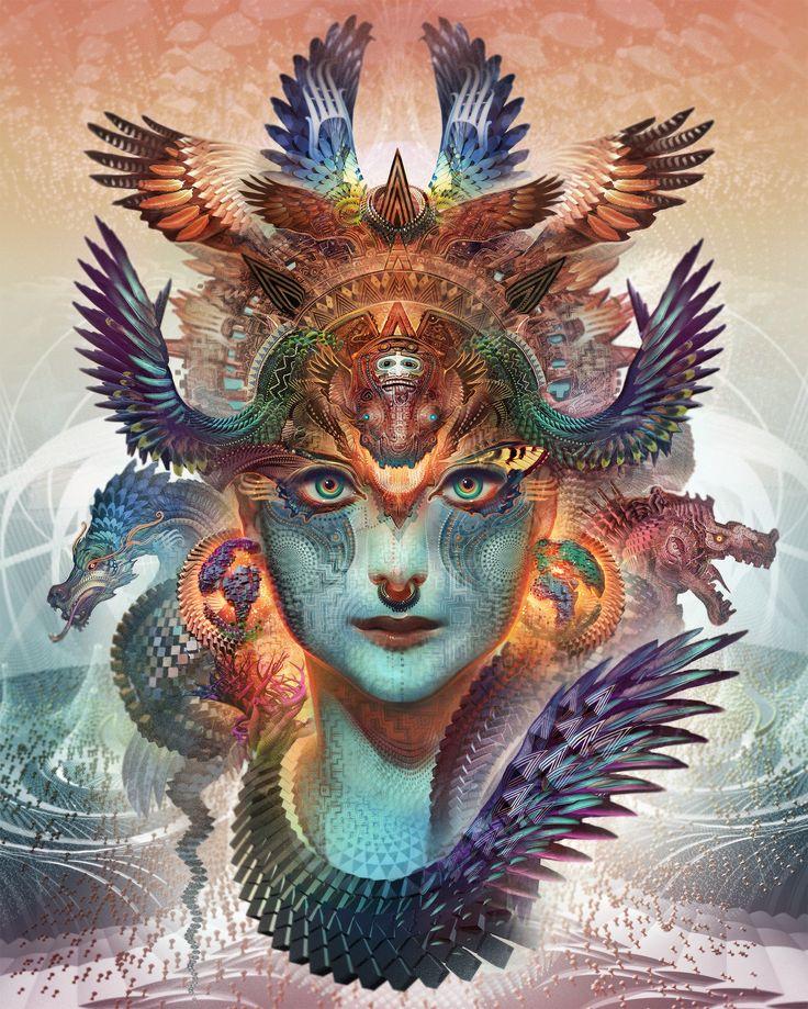 Dharma Dragon • BOOM 2012 | Android Jones