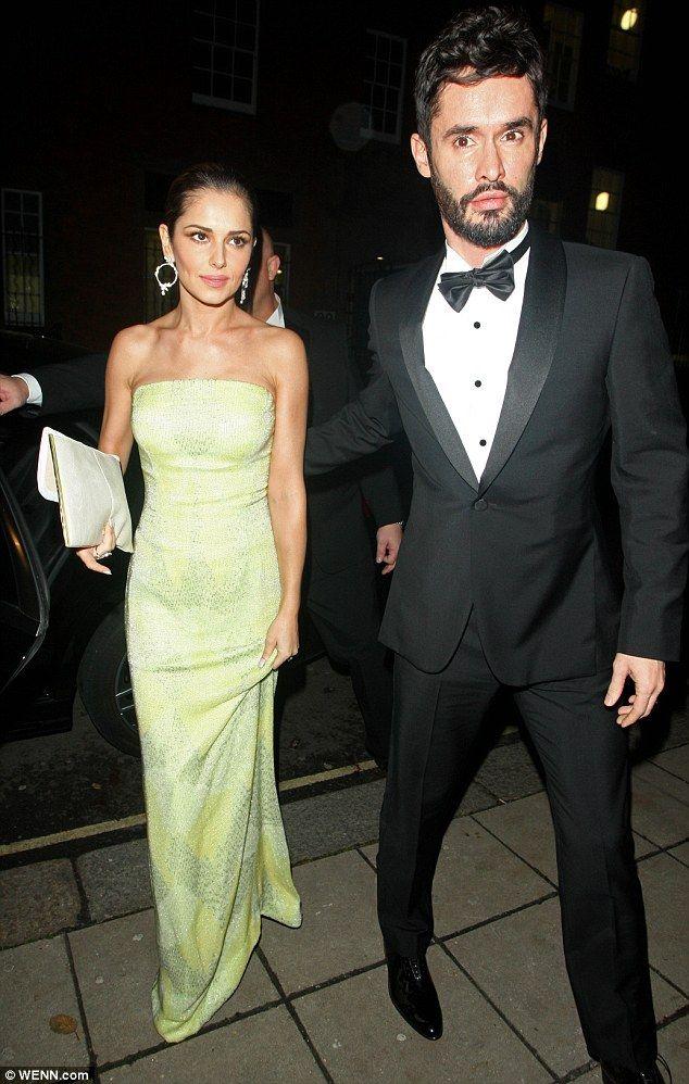 Stunning couple: Cheryl Fernandez-Versini and her husband Jean-Bernard made quite the phot...