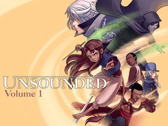 Unsounded Comic Volume 1 by Ashley Cope, via Kickstarter.