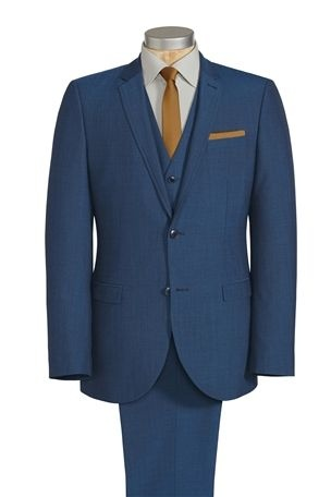 Buy Bright Blue Regular Fit Suit: Jacket from the Next UK online shop