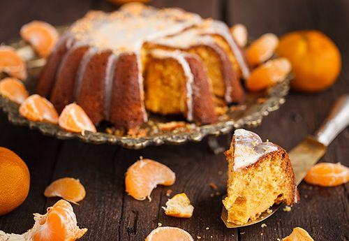 Ванильно-мандариновый быстрый хлеб