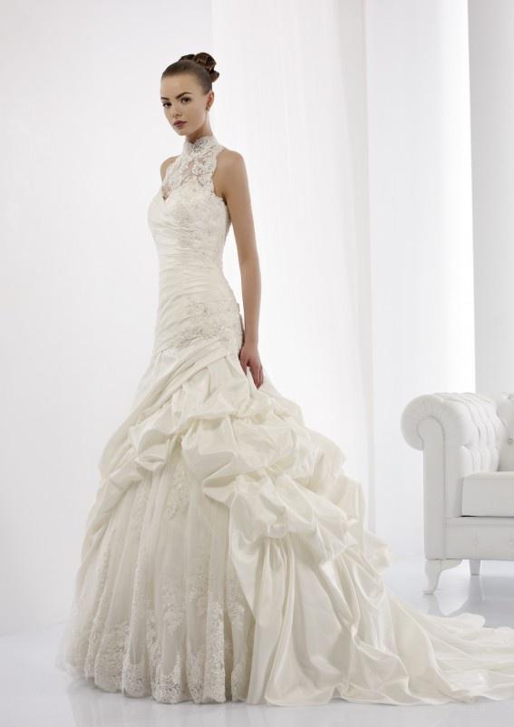 Collezione abiti da sposa #Jolies, abito da #sposa modello JOAB13413IV