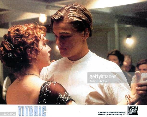 Kate Winslet And Leonardo Dicaprio Dancing In A Scene From The Film Kate Winslet And Leonardo Kate Winslet Leonardo Dicaprio