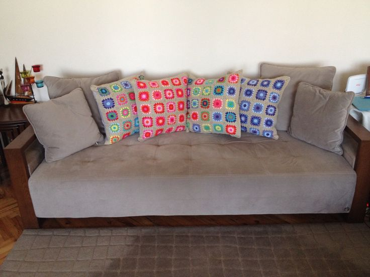 Crochet, granny, pilow, örgü yastık