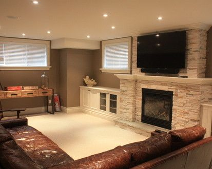 98 best images about beautiful basements on pinterest for Beautiful basements pictures