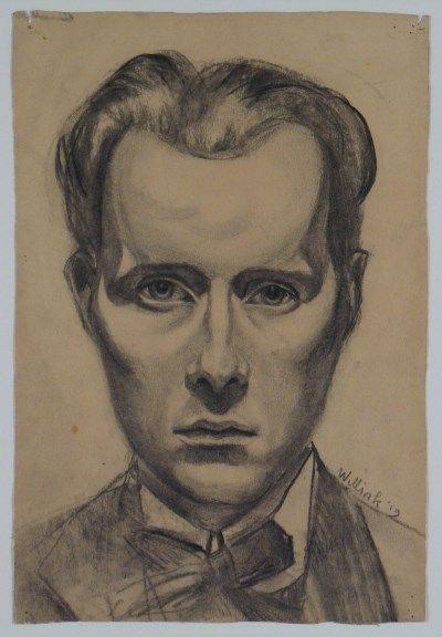 Carel Willink - Zelfportret, 1919. Stedelijk Museum Amsterdam