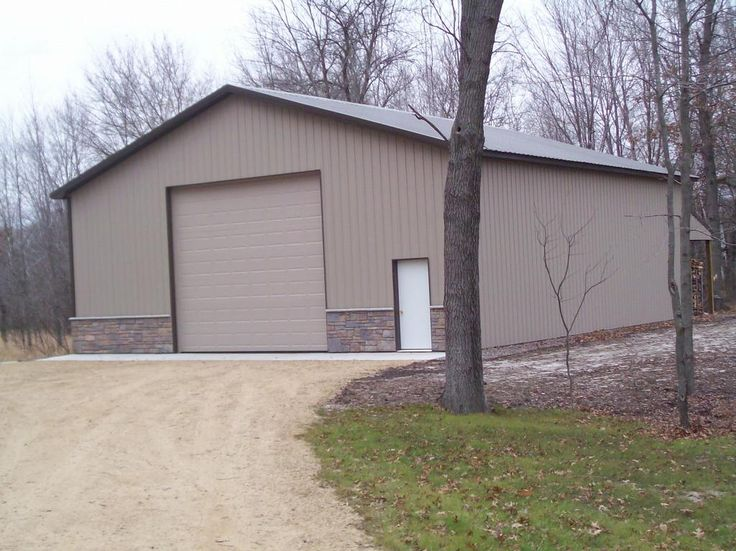 Pole barn rv storage pinterest rock on future shop for Shop buildings with living quarters