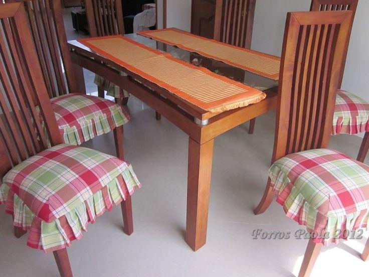 Como hacer forros para asientos de sillas de comedor for Asientos para comedor