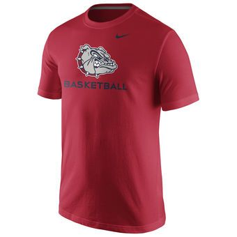 Nike Gonzaga Bulldogs Red University Basketball T-Shirt #gonzaga #zags #bulldogs