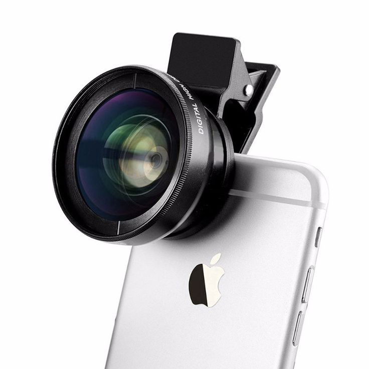 Macro Mobile Lens Universal UHD Camera Lens Kit for iPhone iPad Samsung Sony HTC Huawei Lenovo Smartphones and Tablets