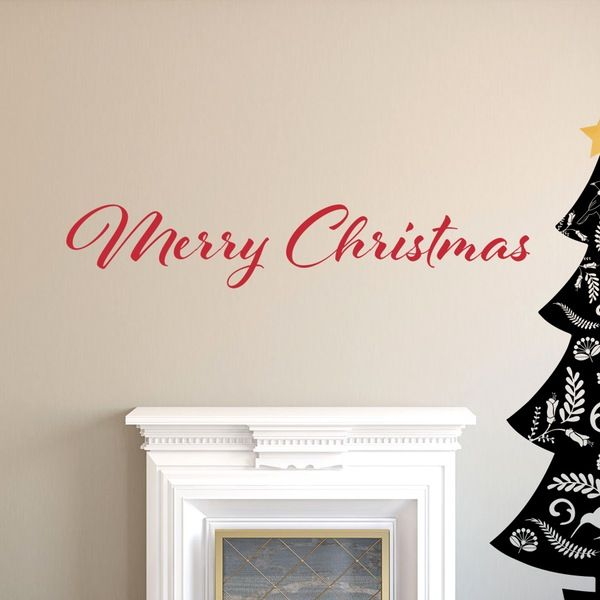 Image of Wall Quote - Merry Christmas