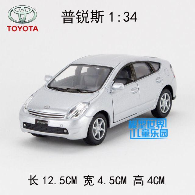 Кэндис го сплава модель автомобиля 1:34 Kinsmart Toyota Prius автомобиль пластиковые мотор авто отступить подарок на день рождения рождественский подарок игрушки